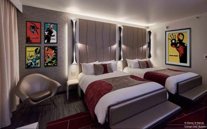 D23 Japan: Get a look inside the Marvel themed Hotel New York at Disneyland Paris