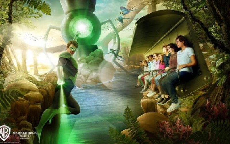 Warner Brothers World Abu Dhabi reveals first rides and list of lands in new park opening in 2018!