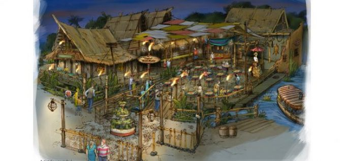 'The Tropical Hideaway' Dining Experience to Replace Aladdin's Oasis at Disneyland